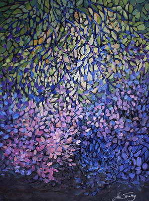 Painting - Natures Stain Glass Symphony by Joanne Smoley