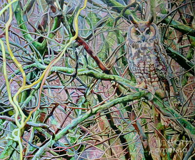 Painting - Nature's Tapestry by Kelly McNeil