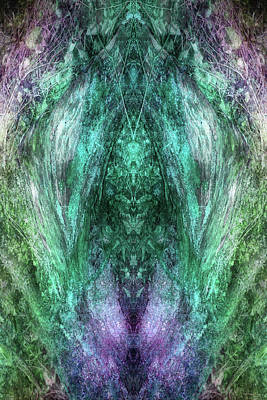 Digital Art - Nature's Temple by WB Johnston