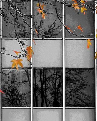 Digital Art - Nature's Transforming Power by I'ina Van Lawick