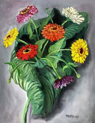 Painting - Natures Vase by Randy Burns
