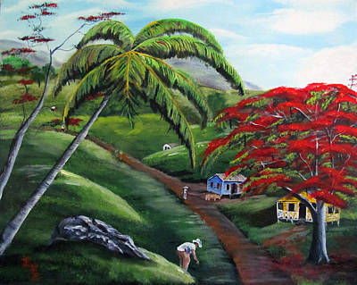Painting - Natures Way by Luis F Rodriguez