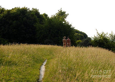 Naturist Danube Island Vienna Austria 2009 Art Print by Wayne Higgs