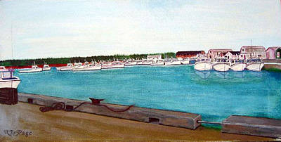 Painting - Naufrage Harbour Pei by Richard Le Page