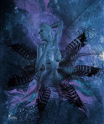 Digital Art - Naughty Nebular by Ali Oppy