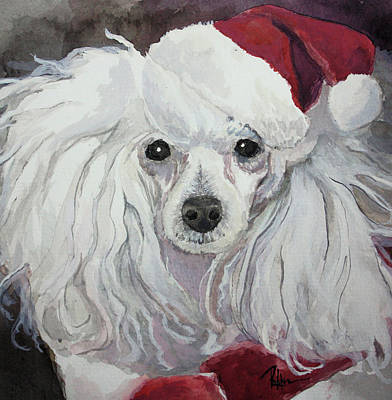 Painting - Naughty Or Nice by Rachel Hames