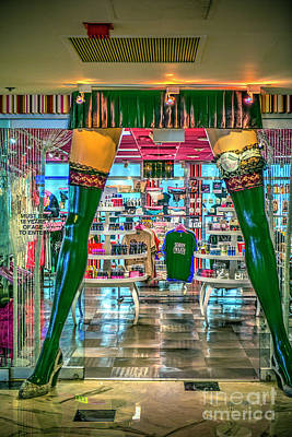 Photograph - Naughty Souvenirs Las Vegas by David Zanzinger