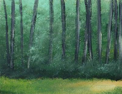 Wildwood Park Painting - Naughty Summer Day In The Woods by Yossi Sigura