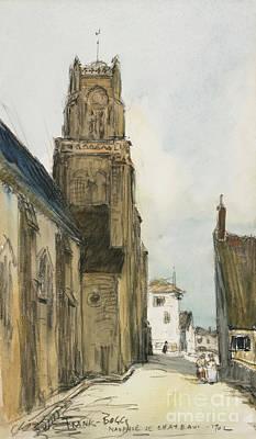 Nauphie De Chateau, 1902 Art Print