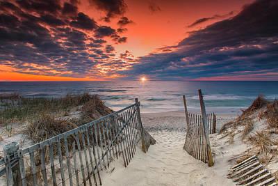 Photograph - Nauset Beach Sunrise April 18 2017 by Dapixara Art
