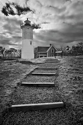 Photograph - Nauset Light Infrared by Luke Moore