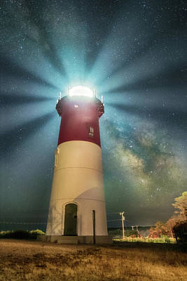 Photograph - Nauset Light by Jatinkumar Thakkar