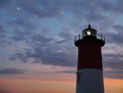 Photograph - Nauset Light Lighthouse At Sunset by Marianne Campolongo