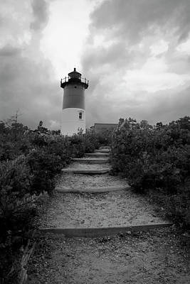 Photograph - Nauset Light by Michael Friedman