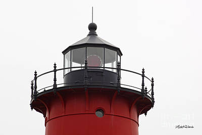Nauset Lighthouse Detail Art Print by Michelle Wiarda