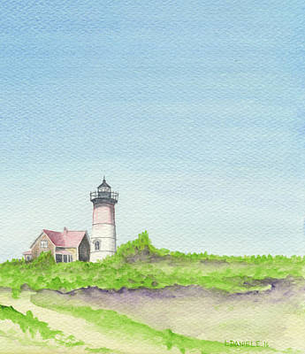 New England Lighthouse Painting - Nauset Lighthouse by Louis Daniele