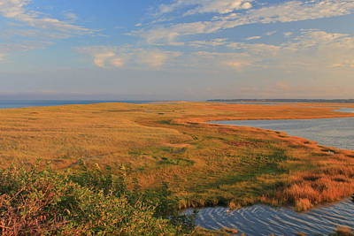 Photograph - Nauset Marsh Late Summer Evening by John Burk