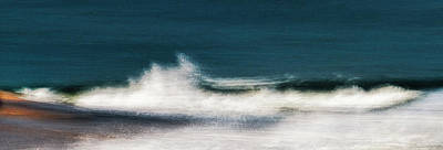 Photograph - Nauset Surf by John Whitmarsh
