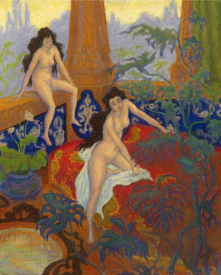 Ranson Painting - Nautchis by Paul Ranson