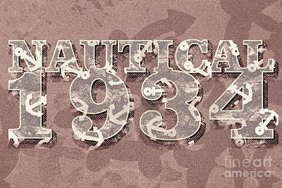 Digital Art - Nautical 1934 by Jorgo Photography - Wall Art Gallery