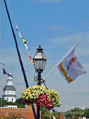 Moet Wall Art - Photograph - Nautical Annapolis by Jost Houk