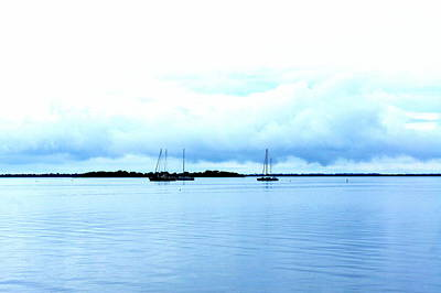 Photograph - Nautical Blues by Laurie Perry