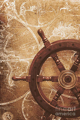 Nautical Exploration  Art Print by Jorgo Photography - Wall Art Gallery
