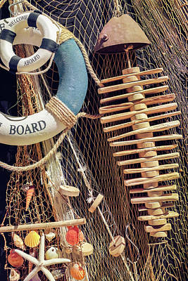 Photograph - Nautical Handicraft by Carlos Caetano