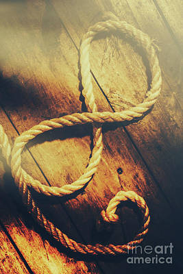 Knot Photograph - Nautical Infinity by Jorgo Photography - Wall Art Gallery