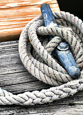 Photograph - Nautical Knot by Diana Angstadt