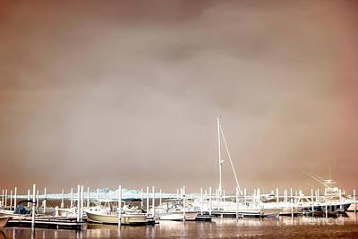 Photograph - Nautical Long Beach Island Infrared by John Rizzuto