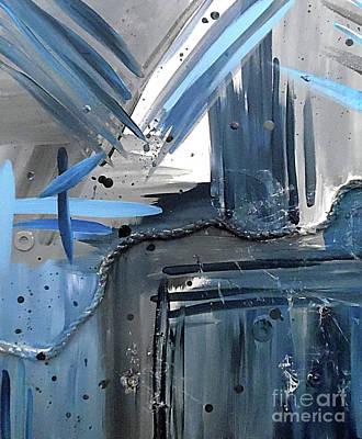 Reuse Painting - Nautical Nights 1 by Jilian Cramb - AMothersFineArt