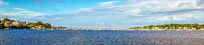 Photograph - Nautical Panorama by Lilia D