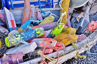Photograph - Nautical Riot Of Color by Kim Bemis