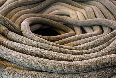 Photograph - Nautical Rope by Dale Kincaid