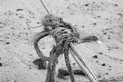 Photograph - Nautical Rope by Georgia Fowler