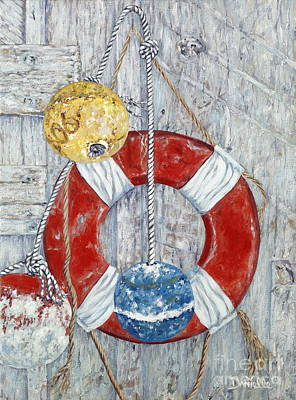Nautical Treasures Original by Danielle  Perry