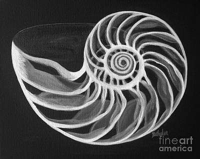Painting - Nautilus by JoAnn Wheeler