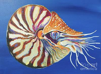 Painting - Nautilus by Kim Heil