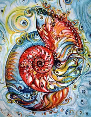 Stocktrek Images - Nautilus Shell - Ornate by Harsh Malik