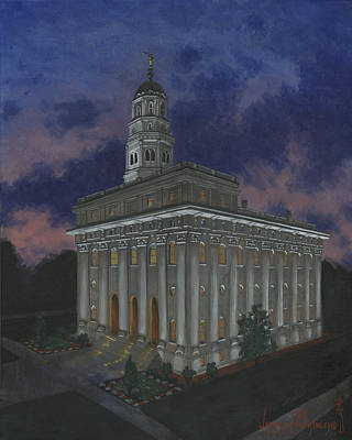 Nauvoo Sunset Art Print by Jeff Brimley