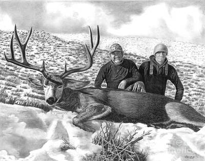 Navada Hunt 2015 Art Print by Peter Piatt