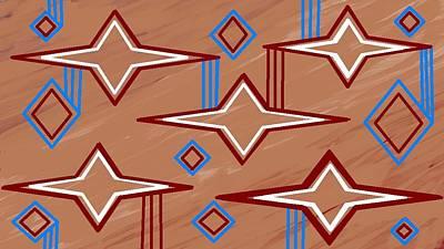 Digital Art - Navajo 10 by Linda Velasquez
