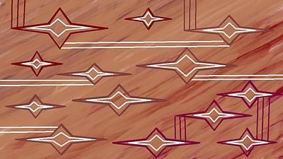 Digital Art - Navajo 9 by Linda Velasquez