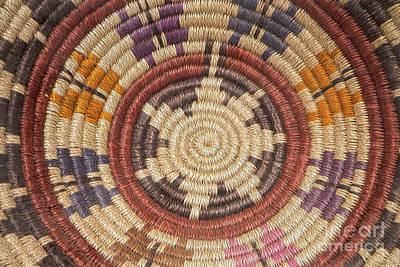 Photograph - Navajo Basket Weaving by Teresa Wilson