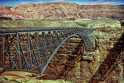 Photograph - Navajo Bridge by Anthony Dezenzio