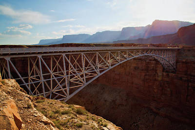 Photograph - Navajo Bridge by Lana Trussell
