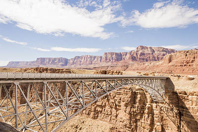 Photograph - Navajo Bridge by Laura Pratt