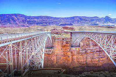 Photograph - Navajo Bridge by Mark Dunton