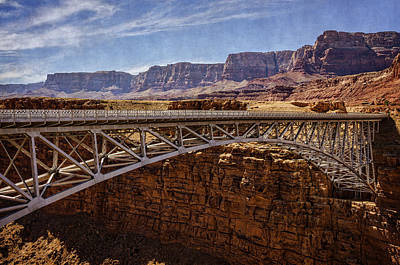 Photograph - Navajo Bridge by Saija Lehtonen